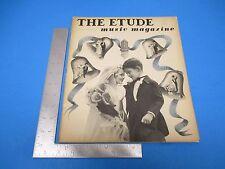 Etude Music Magazine June 1940 Vol LVIII  #6 Teaching Of Brass Instruments L143