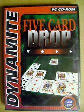 Jeux CD PC Five card drop Combinaison de puzzle et de poker /J19