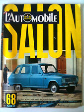 L'AUTOMOBILE N°269 du 10/1968; Spécial Salon de Paris