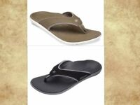 MENS Spenco arch support sandals flip flops thong shoes
