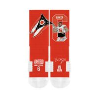 CLEVELAND BROWNS BAKER MAYFIELD SOCKS OFFICIALLY LICENSED STRIDELINE ONE SIZE