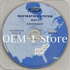 2003 2004 2005 FORD EXPEDITION NAVIGATION MAP DISC CD 6 SOUTHEAST AL GA NC SC 4V