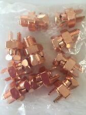 Lot of 10 Copper Split Bolts Model # 1SB-4U