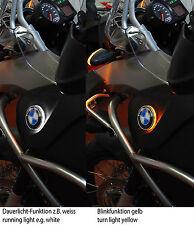 For BMW R1200GS Adventure roundel badge two colour LED backlight / emblem light