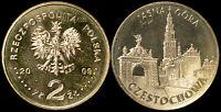 Pologne. 2 Zloty. 2009 (Pièce KM#Y.709 Neuf) Cities-Częstochowa-Montagne Claire