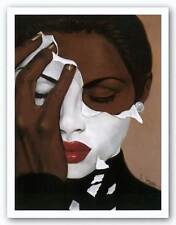Face Reality Laurie Cooper African American Art Print 20x24