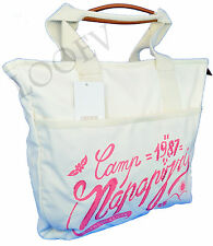 Sac Mer Shopping Napapijri Femme Bag femme Blanc N8O02 Fancy carré Fourre-tout