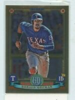 RONALD GUZMAN 2019 TOPPS GYPSY QUEEN CHROME PARALLEL #80 TEXAS RANGERS