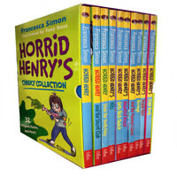 Horrid Henry Cheeky Collection 10 Books Box Set By Francesca Simon Haunted House