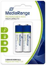 MediaRange MRBAT123 Batterie Rechargeable ACCU Micro AA E