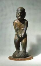 Antique Bronze Figurine Tau Tau from Indonesia 14. Ct