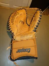 NEW OLD STOCK Cooper GM12 JR. Junior Pro Ice Hockey Trapper Glove Goalie Leather
