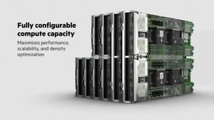 HPE Synergy 12000 + 12 Blades < Oneview > BLADE SYSTEM 65% OFF! 3 year Warranty