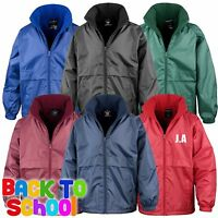 Result Core Junior Microfleece Lined Jacket Coat School Uniform Boy Girls R203JY
