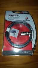Targus Defcon CL Laptop Security Combo Cable Lock NEW