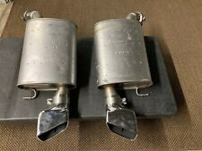 Ford Mustang GT OEM Muffler F1-8388-R, F1-8388-L Steel Chrome Exhaust SET of (2)