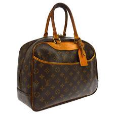 LOUIS VUITTON DEAUVILLE BUSINESS HAND BAG PURSE MONOGRAM M47270 AUTHENTIC A45996