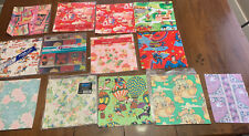 Vintage All Occasion Wrapping Paper Strawberry Short Cake Barbie Super Man Troll