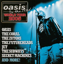 """OASIS ON THE ROAD:World tour 2005""-Rare WHO Track-Jet-Coral-PROMO NME CD-SEALED"