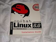 VINTAGE RED HAT OFFICIAL LINUX 6.0 OPERATING SYSTEM INSTALLATION GUIDE 1999 S/C