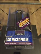 NEW 2004 Logitech USB Wired Microphone Playstation 2 & 3 Karaoke Revolution