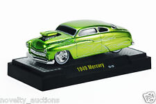 M14  81161 11 M2 MACHINE GROUND POUNDERS 1949 MERCURY  SATIN GREEN  1:64