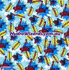 1m² Hydrographic, Hydro Dip Water Transfer Printing,CARTOON SPIDERMAN LD215V