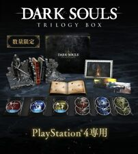NEW PS4 DARK SOULS TRILOGY BOX Limited Ver Senior Knight Bust Up Figure Japan