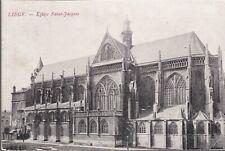 LIÈGE Belgique Église St Jacques CPA écrite à Mme A. Bertrand 87 Limoges 1914