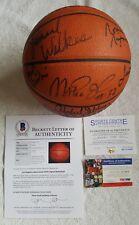 Lakers 1981-82 Team Signed NBA Basketball Magic, KAREEM +5  Beckett LOA PSA COA