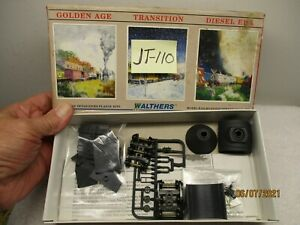 JT-110 Walthers Kit 932-3131 Hot Metal Car #14 Black w/ white lettering