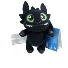 18CM HOW TO TRAIN YOUR DRAGON PLUSH Toothless Night Fury Black