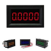 DC 3.5-30V Mini 5 Digit Digital LED Ammeter Current Meter Panel Car 4 Colors
