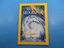 National Geographic Magazine March 1999 El Nino La Nina Nature's Vicious Cycle