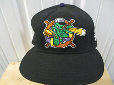 VINTAGE NEW ERA NORWICH NAVIGATORS 7 1/2 FITTED SEWN LOGO CAP 1995 2005 MINOR LE