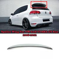 Spoiler Wing For VW Golf VI MK6 GT R32 2008-2012 Car Rear Trunk Roof Spoiler