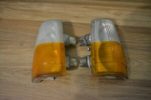 Turn Signal Parking Lights 1988-1990 Volvo 760 740 Original