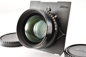 【N MINT】 Nikon NIKKOR W 210mm F5.6 Lens Copal1 Linhof Standard Board From Japan