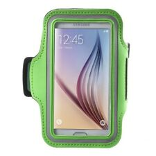 Samsung Galaxy S7 S6 S6 Edge Gym Running Sport Armband Handy Tasche Bag Grün