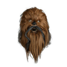 Cosplay Chewbacca Mask Star Wars Mask Chewie Rubber Mask Halloween Mask Props