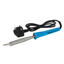 Silverline 100W Soldering Iron UK Includes Angled Chisel Solder Work 868784