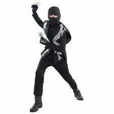 Ninja Accessory Set Child Assasin Warrior Kids Boys Fancy Dress Accessory Kit