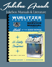 Wurlitzer 2300 Service, Parts & Troubleshooting Manual from Jukebox Arcade