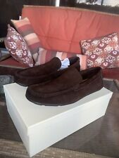 Walter Waxy Suede Bronze Coach Loafers 9.5 MENS Brand New With Box