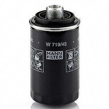 Oil Filter Spin-On Mann Filter W719/45 for Audi A3 A4 Q5 VW Eos Beetle Jetta WOW