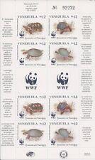 Venezuela 1992 - World Wildlife Fund WWF Turtles Sheet - Sc 1471 MNH