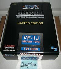 Robotech Macross Valkyrie Super Poseable Figure: VF-1J Hikaru-Type (Toynami) EUC