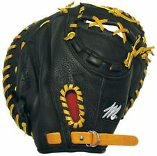 "New Other MacGregor 33"" Prep Series Baseball Catchers Mitt Youth Black/Tan RHT"