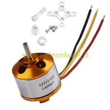 A2212 1400kv Outrunner Motor Brushless Airplane Aircraft Quadcopter Helicopter U