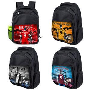 Personalised Football Backpack Boys School Bag Children Laptop PE Sports Gift AF
